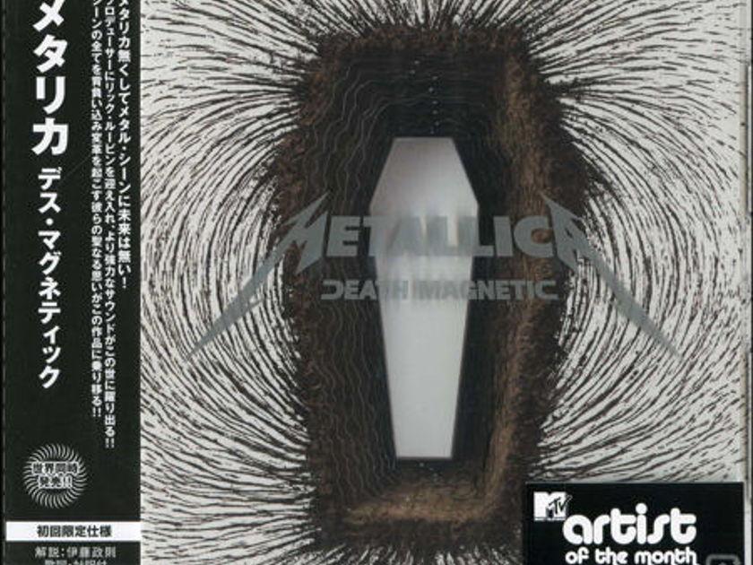 Metallica - Death Magnetic (Japan 1st edition)