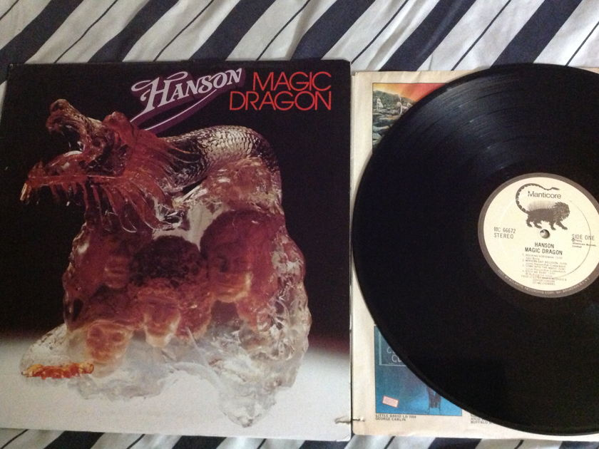 Hanson - Magic Dragon LP NM