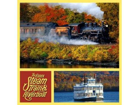 Essex Steam Train & Riverboat Excursion