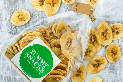 """Фруктовые чипсы """"Банан"""""""