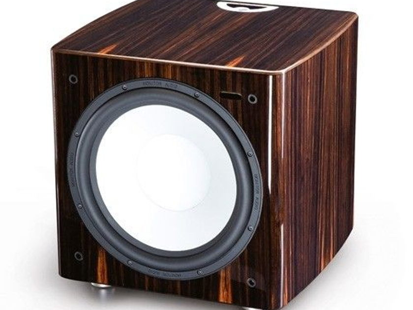 Monitor Audio PLW215 Series II Subwoofer - Ebony; Mint Condition; 1 Yr. Warranty; 30% Off