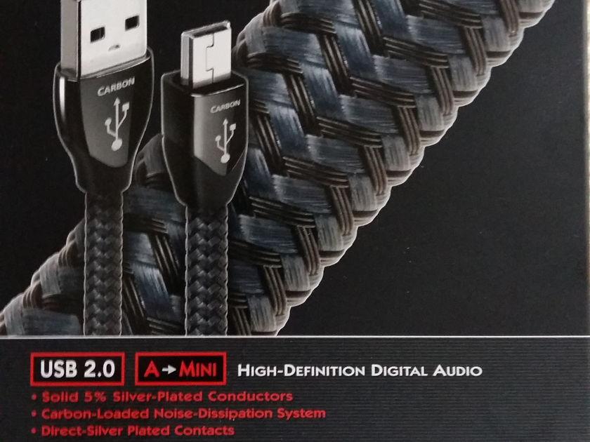 AudioQuest Carbon USB 1.5m to mini