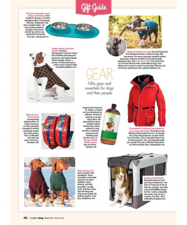Modern Dog Magazine Gift Guide