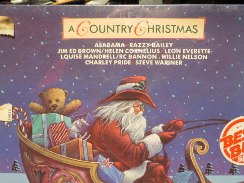 A COUNTRY CHRIST - VARIOUS ARTIST RCA 82 CHRISTMAS SEALED