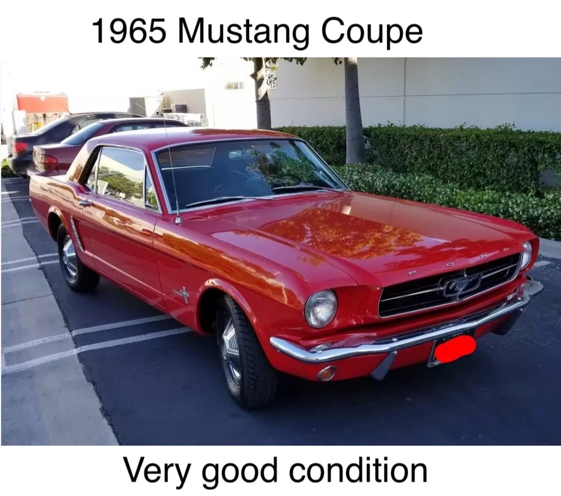 1965 Ford Mustang For Sale | Clasiq