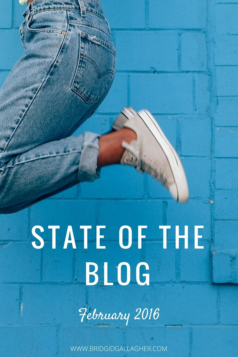 February 2016 State of the blog report: Want a behind-the-scenes glance at what's working/not working for my blog? Take a look to learn about my blogging goals and what I'm doing to reach them >>>>>