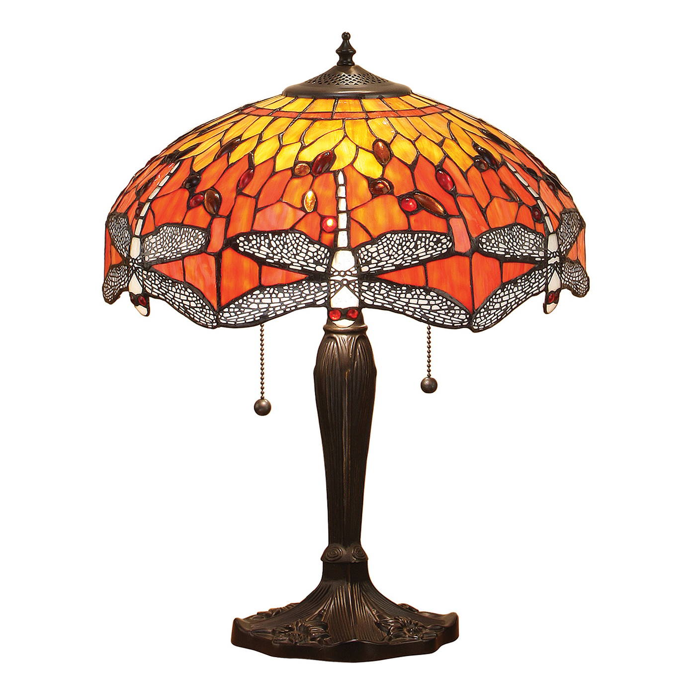 flame dragonfly tiffany lighting range