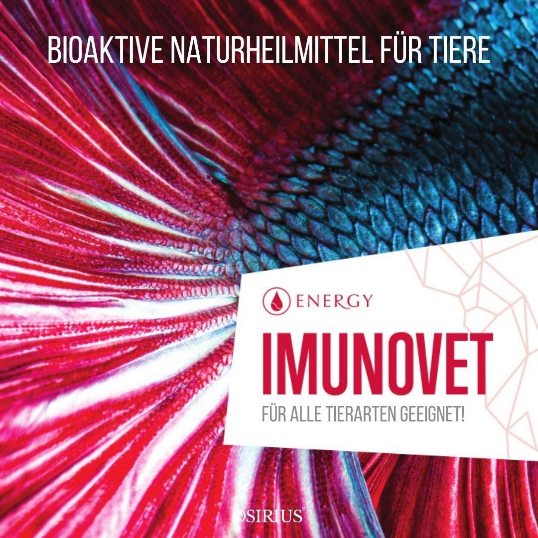 Imunovet Naturheilmittel für Tiere, Hunde, Katzen, Pferde und andere Tiere!