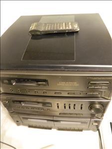 CD + cassette player