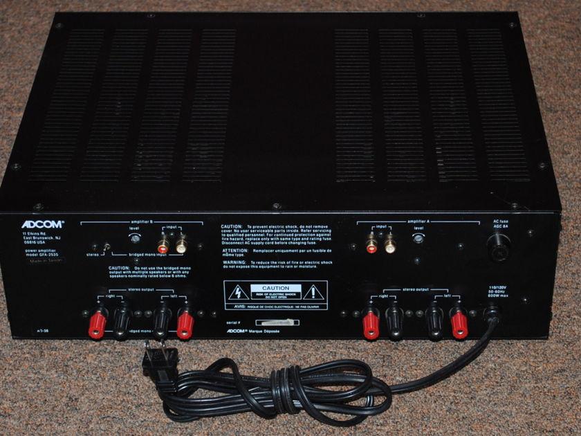 Adcom GFA-2535 4-Channel Amplifier