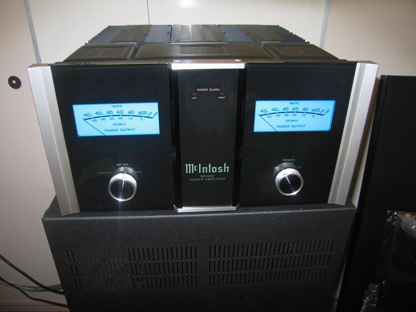 McIntosh MC402 Stereo Power Amplifier