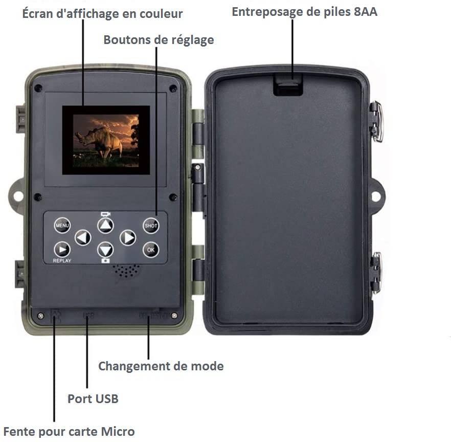 meilleur caméra de chasse
