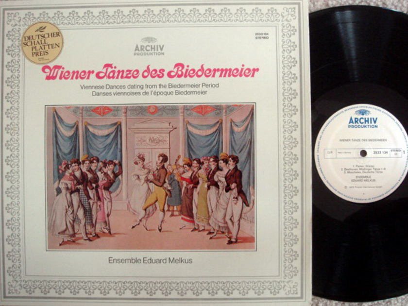 Archiv / MELKUS ENSEMBLE, - Viennese Dances dating from the Biedermeier Period, MINT!