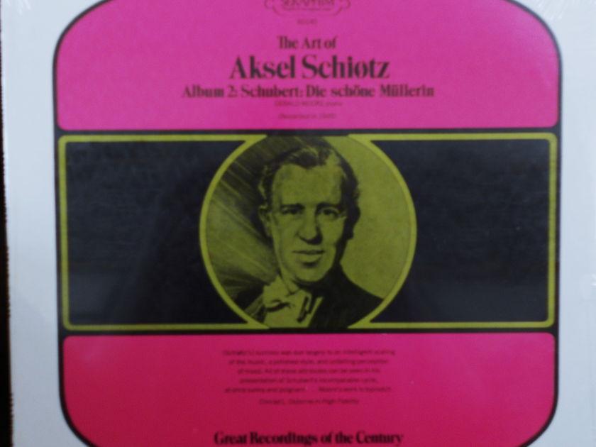 FACTORY SEALED ~ THE ART OF AKSEL SCHIOTZ ~  - ALBUM 2~SCHUBERT~DIE SCHONE MULLERIN~GERALD MOORE (PIANO) (RECORDED 1945) ~  SERAPHIM 60140 (1970)