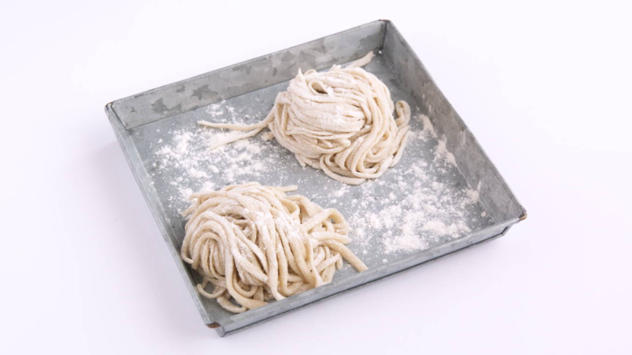 Homemade Wheat Noodles (without Egg)