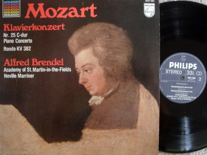 Philips / BRENDEL-MARRINER, - Mozart Piano Concerto No.25, MINT!