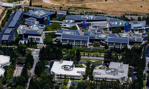 Google campus' rich looks are not deceiving.