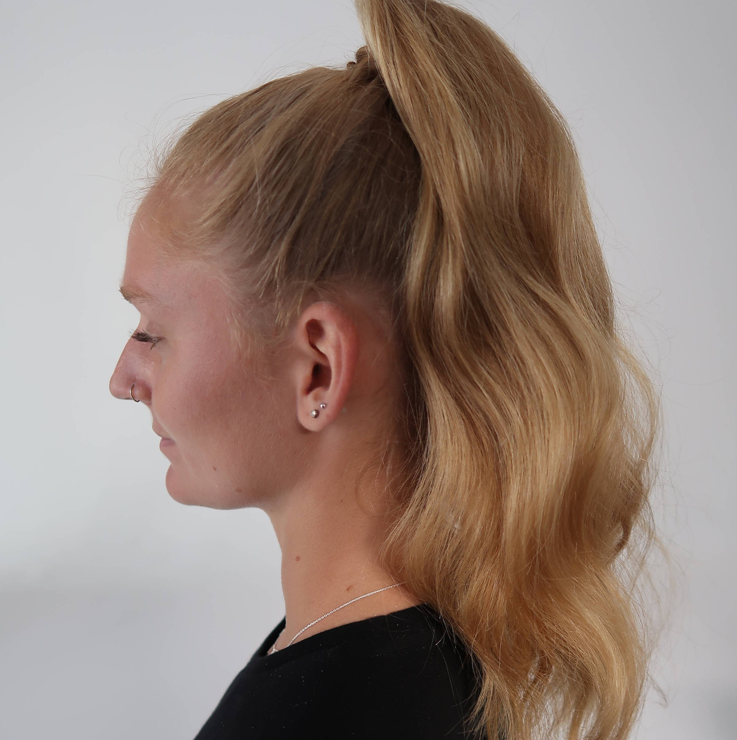 Knotted ponytail tutorial how to