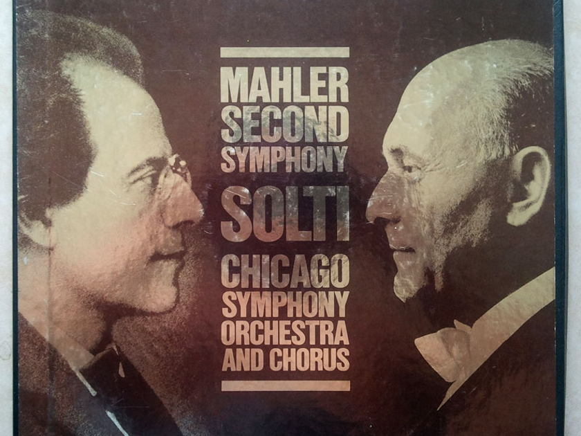 London Digital/Solti/Mahler - Symphony No. 2 / 2-LP /  NM