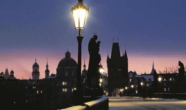Вечерняя Прага без туристического водоворота