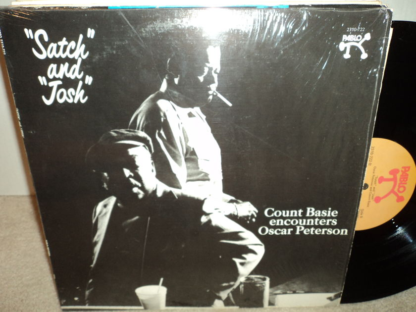 """Count Basie Encounters Oscar Peterson - """"Satch"""" and """"Josh"""" Open Shrink Mint"""