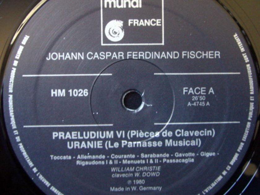★Audiophile★ Harmonia Mundi / CHRISTIE, - Fischer Le Parnasse Musical Pieces de Clavecin, NM, Rare!