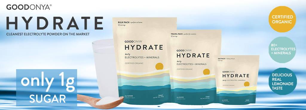 GoodOnYa Hydration Powder