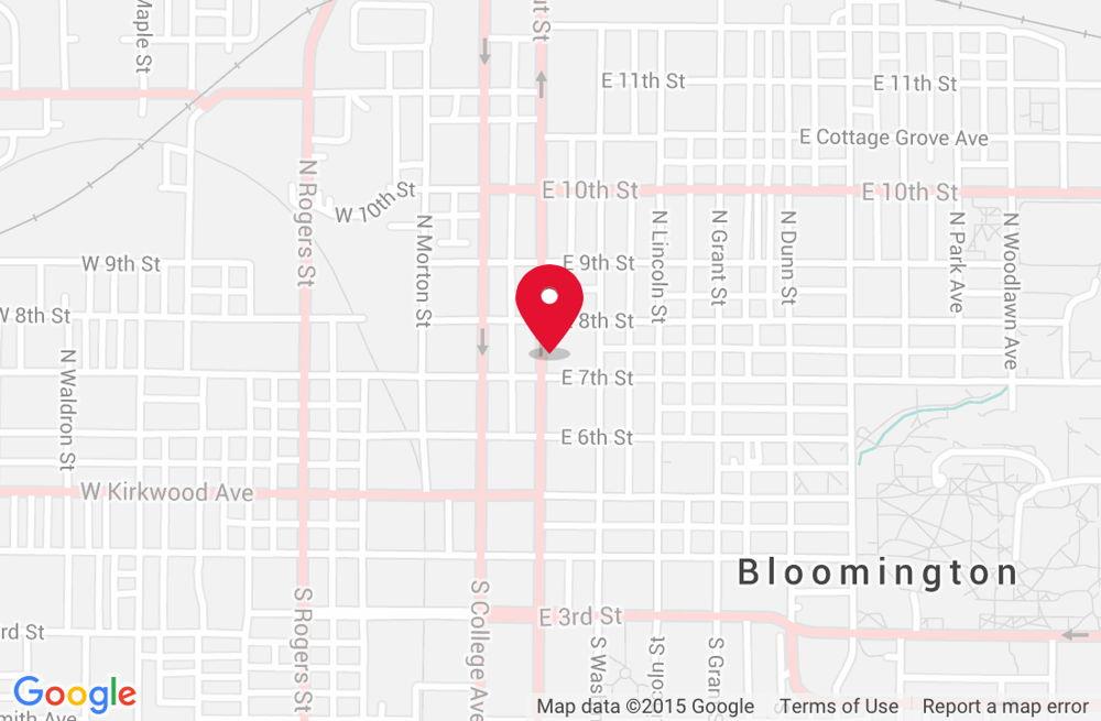 Bloomington <span>NORTH WALNUT STREET</span>