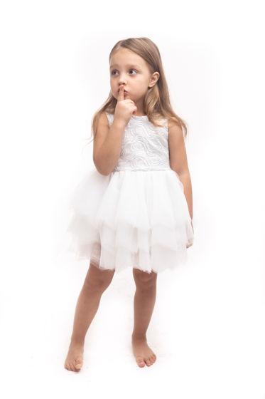 Воздушное платье SNEGINKA