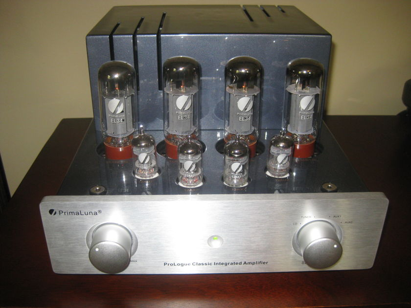 Primaluna Prologue Classic Tube Integrated amp with phono