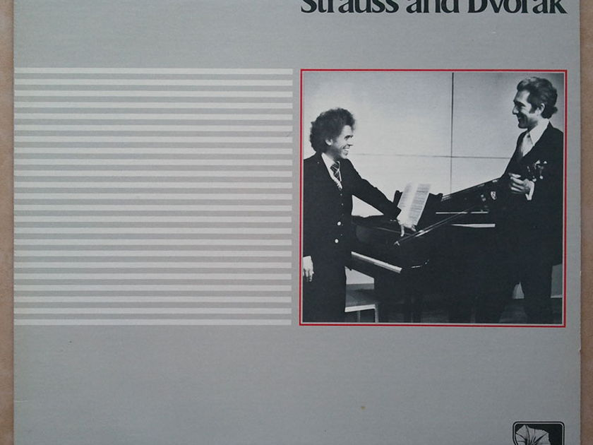 SHEFFIELD LAB | STRAUSS & DVORAK - - Romantic Music for Violin & Piano performed by  Arnold Steinhardt & Lincoln Mayorga