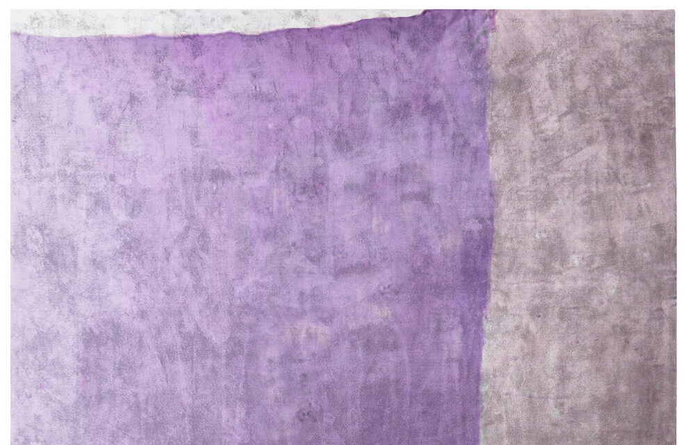 Henzel Hand Knotted Rug in Purple