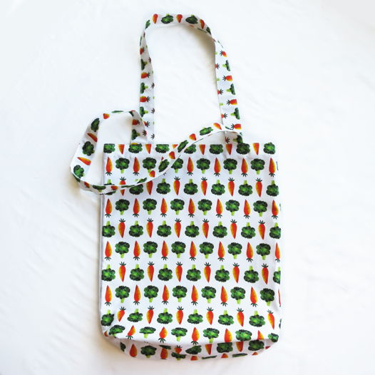 Текстильная сумка авоська «Healthy, Wealthy & Nice»
