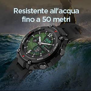 Amazfit T-Rex - Resistente all'acqua fino a 50 metri