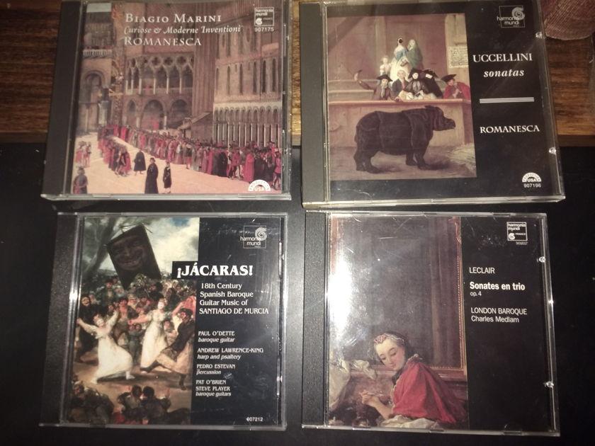 Harmonia Mundi collection - Hard case covers 10 CD's