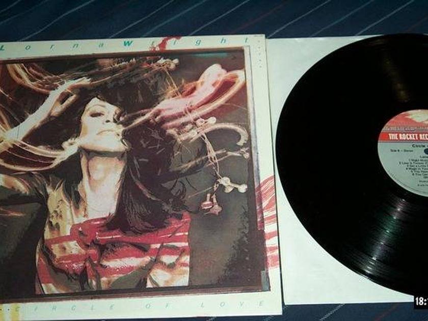 Lorna Wright - Circle Of Love rocket records label lp nm