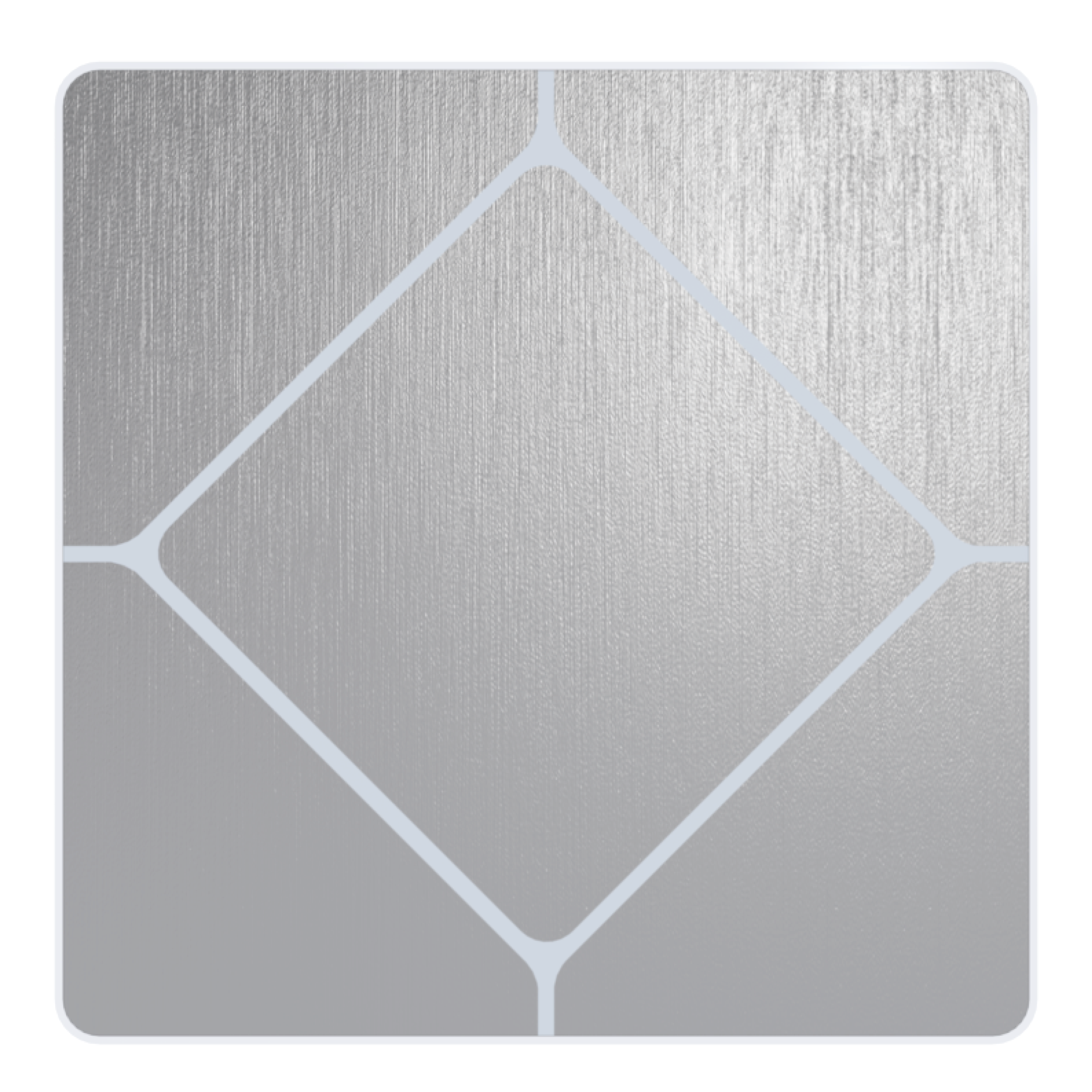 Faradite TAP-1 Brushed Stainless Steel Switch for Crestron