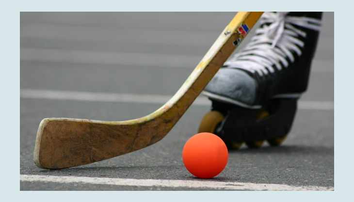 open airea streethockey