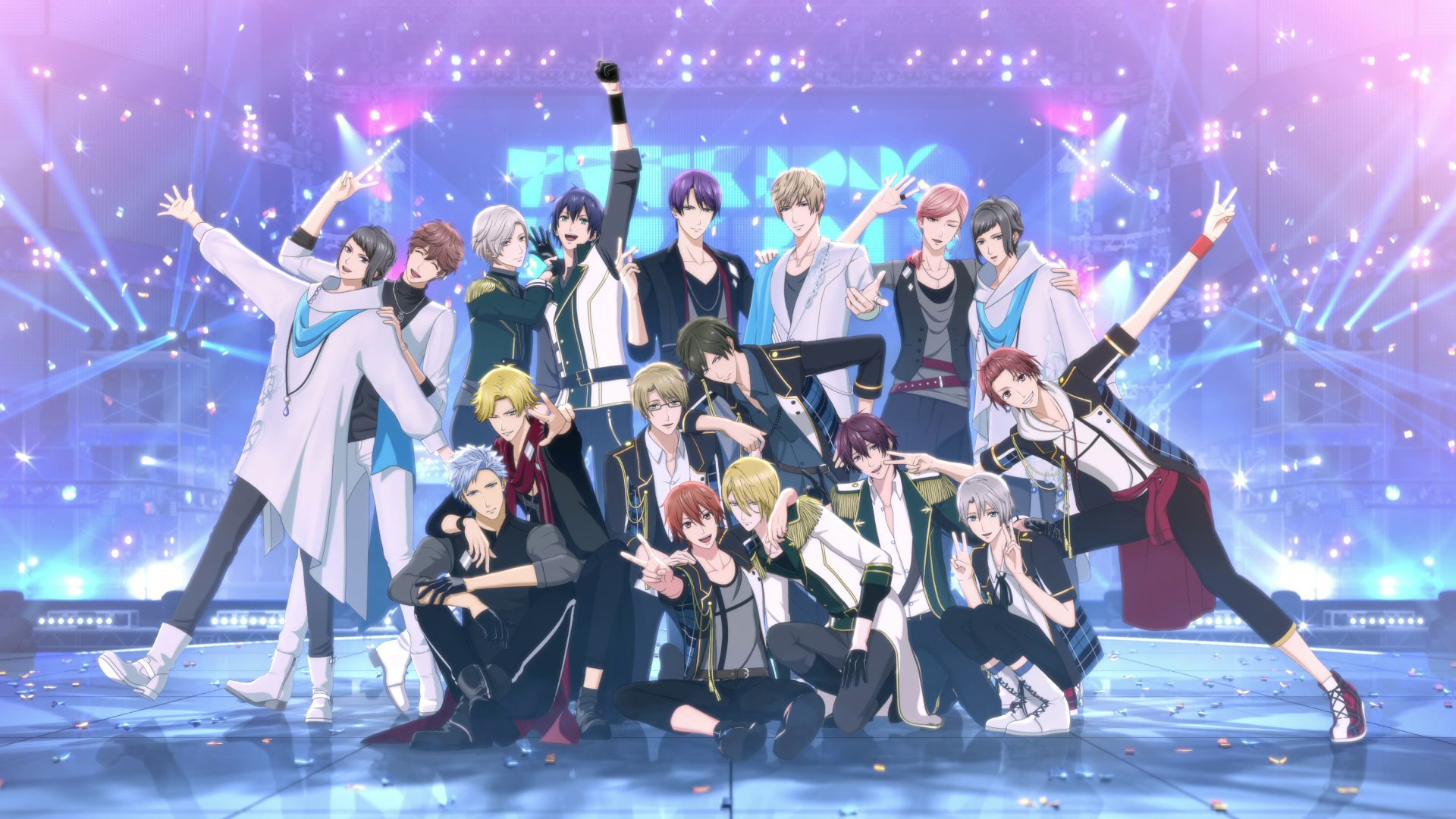 Tsukipro the animation end card