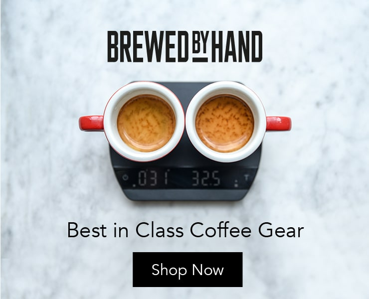 Brewed by Hand - Best in Class Coffee Gear