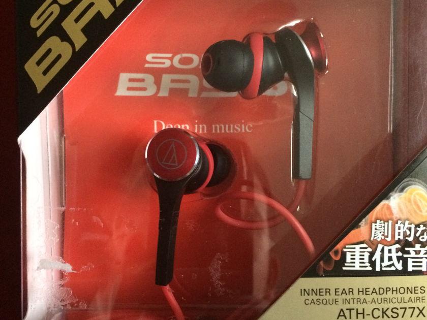 Audio-Technica ATH-CKS77X Inner Ear Headphones