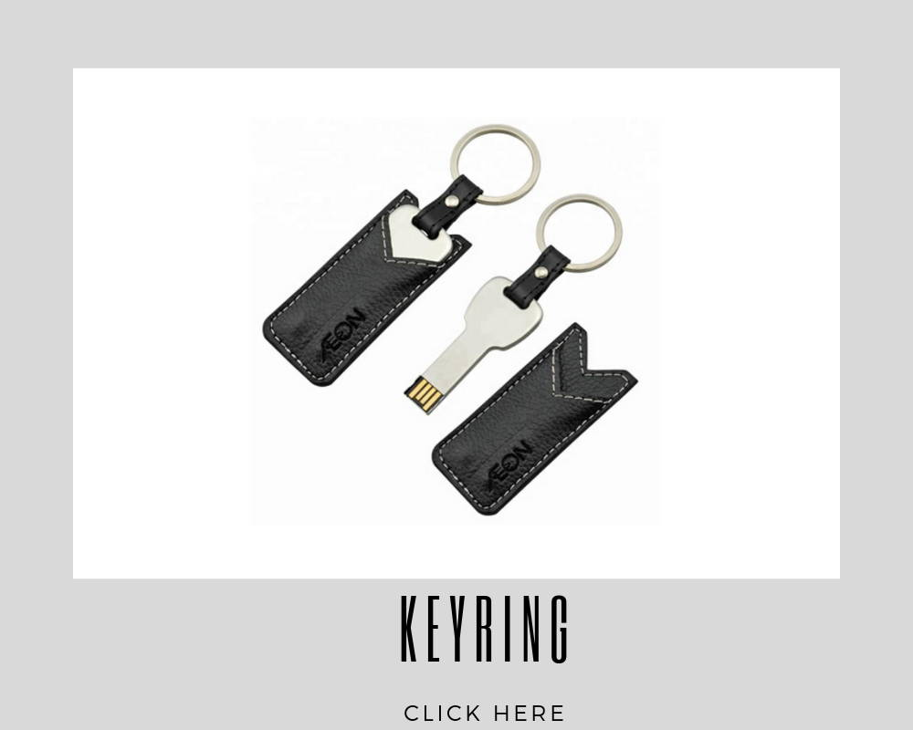 Custom Keyring Corporate USB Flash Drives