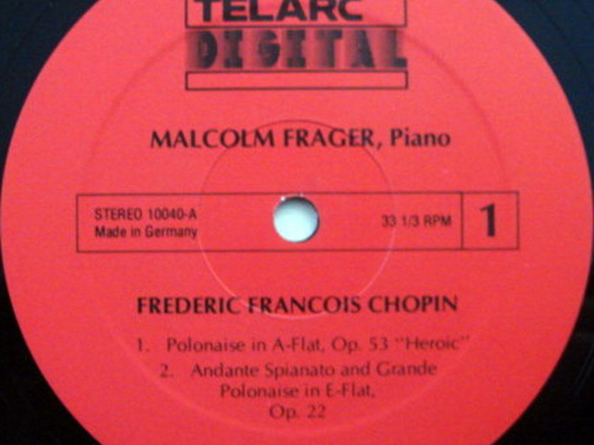 ★Audiophile★ Telarc / MALCOLM FRAGER, - Chopin Piano Music,  MINT!