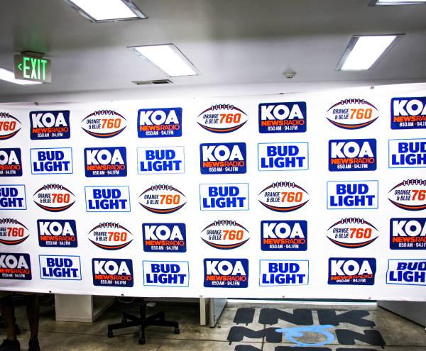 Signs & Banners -  KOA/Bud Light Banner
