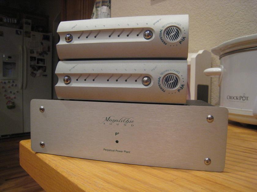 Perpetual Technology P-1A w/ Strata Mini SOCS, P-3A w/ Modwright Mod, P3 PS w/ Modwright Mod & Revelation Audio Cables