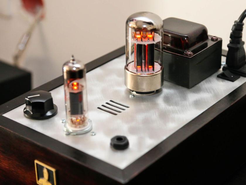 Bottlehead Crack w/Speedball 4 Tubes Amplifier