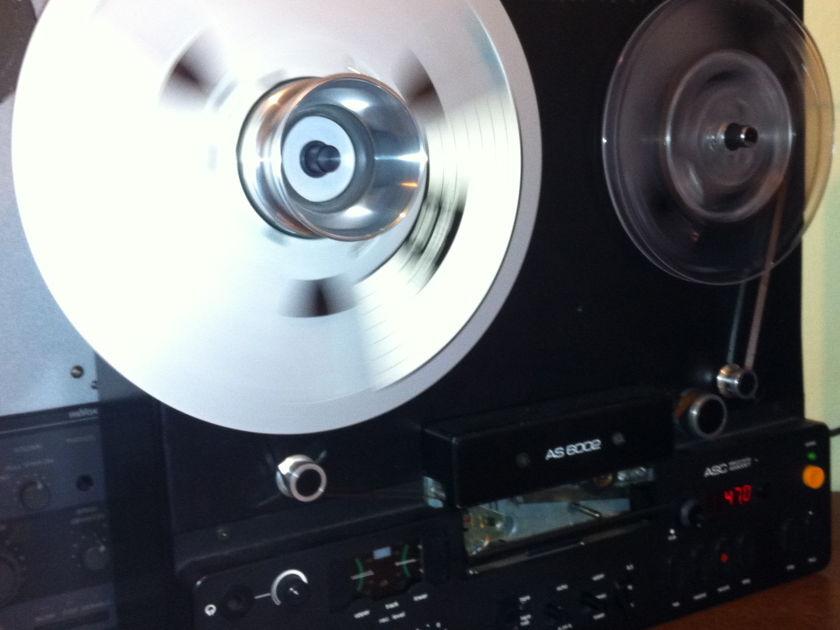 ASC  6002s 2 track 15 ips open reel recorder