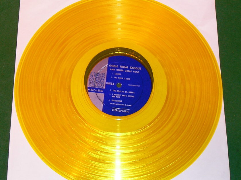 Theme From EXODUS  - LIMITED EDITION VIENNA GOLD * NM 9/10 *