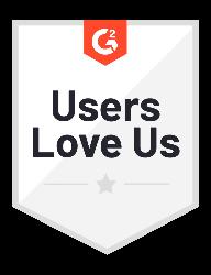 users love us badge