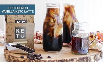 Iced French Vanilla Keto Latte
